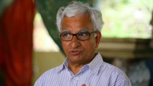 T.K. Shribashyam, un des fils de T. Krishnamacharya