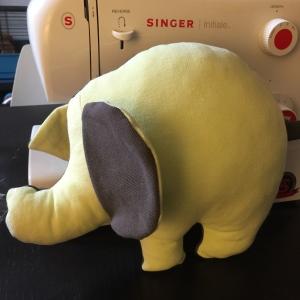 DIY doudou elephant