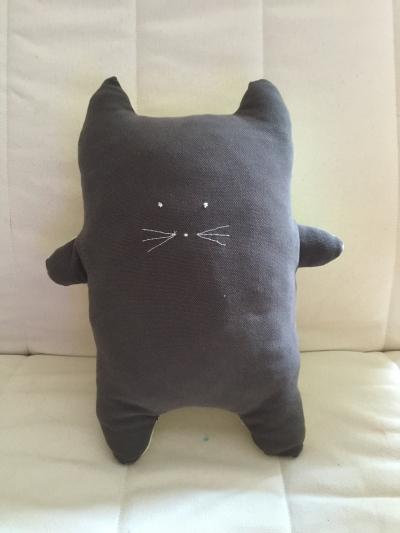 DIY couture tuto doudou chat