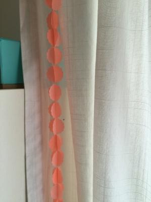 DIY guirlande papier washi perforatrice