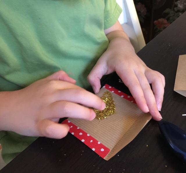 calendrier avent enfant DIY activité washi tape