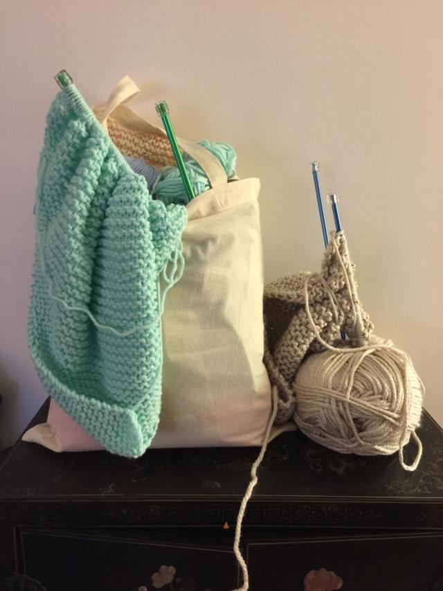 tricot strendy châle DIY Phildar jade