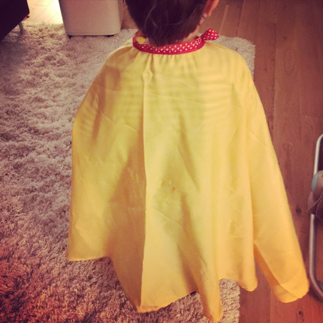 cape enfant DIY