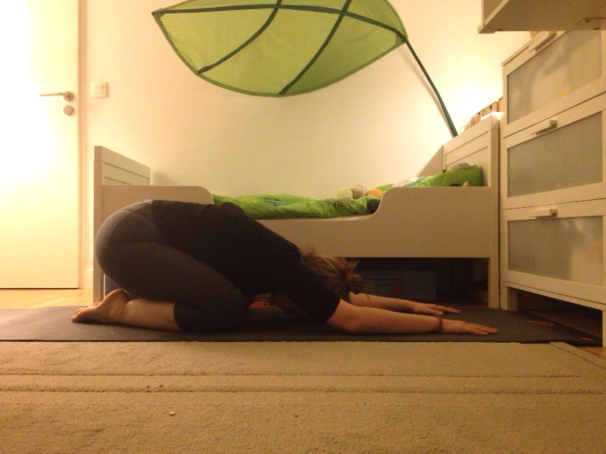 balasana child pose blog yoga