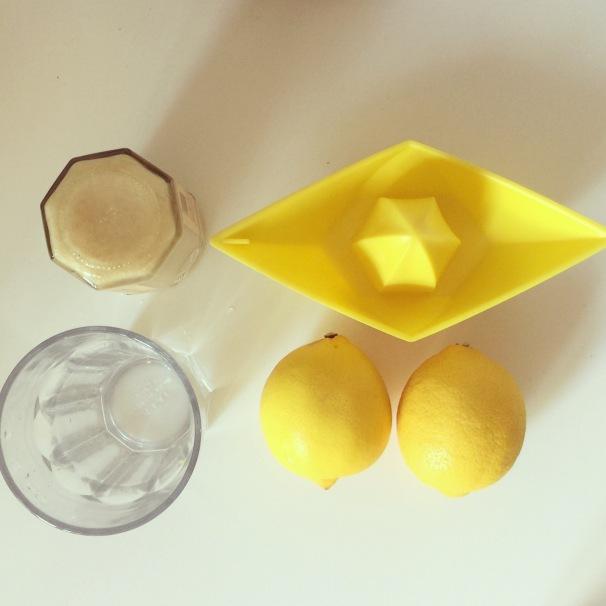 citron miel rituel matin