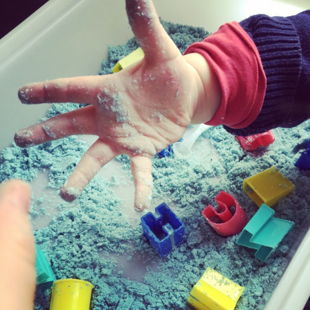 activité sensorielle sable effervescent
