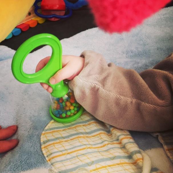 bébé carnaval halilit natalys hochet
